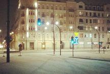 Łódź by night / Other illuminations in Łódź