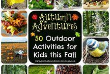 Autumn Crafts & Activities