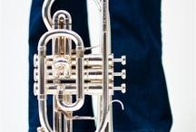 Cornet / Ook de cornet kun je horen als wij spelen. Fanfarehs www.fanfare-hs.nl