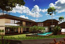 Kemang Pratama House / Design house of Minimalist Tropic