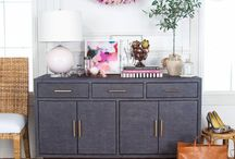 Decorate sideboard