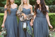 Tulle Bridesmaid Dresses and Separates from Revelry / Revelry Bridesmaid Dresses and Separates are made with the highest quality bobbinet tulle. This is not your average tutu tulle! Dresses come in 30+ colors in varying shades from pinks, blushes, and neutrals, to dusty blues, grays, and daring shades of greenery!