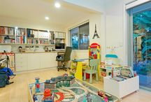 home: playrooms / by Stephanie Miles