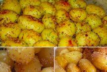 pecene sezamove zemiaky
