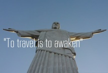 """To travel is to awaken"" / by Amy Driver"
