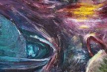 Oil paintings of Monika Brchelová