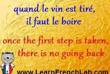 French Idioms, Interesting Expressions