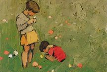 Innocence / A Child's world: unselfconscious, play, discover, imagine. books, art.  free, poignant, profound  / by Sue Rhodes