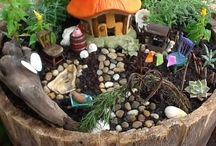 Fairy Gardens / Learn how to design a beautiful fairy garden to (hopefully) attract some otherworldly creatures ;)