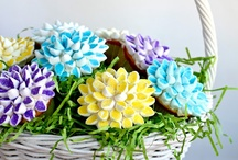 Cupcake Decorating: bouquets