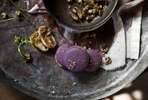 FIG – CHEESE / Macaron in a tasty shell made of almond and walnut, stuffed with dried figs marinated in Mavrodafni sweet wine and Philadelphia cream cheese.  (photo:Dionisis Andrianopoulos, Styling: Anestis Michalis, Photographer assistant: Konstantina Statha)