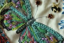 embroid. butterfly