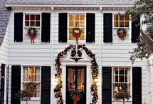 Christmas exteriors