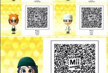 Miitopia QR Codes