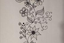 Kukkaköynnöksiä