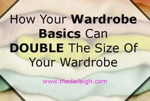 How to Build A Wardrobe / Steps to building a solid and functional wardrobe / by The Daileigh