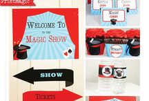 Magic Show Party Ideas / Ideas for your next Magical Party!