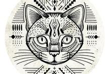 Tatuaże, kolczyki, inspiracje... / [tattoos, earrings, inspirations...]