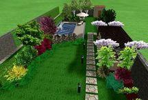 Gardens plans / Planning gardens