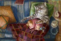 Cat Painters