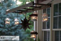 Ladder Lanterns