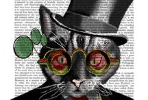 Cats in Hats and Dogs in Togs - Folksy / Dressed up animals on Folksy