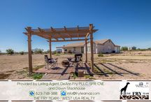 """SOLD! Beautiful Home w/ Mountain Views From Every Angle / SOLD! 6011 N 418th Avenue, Tonopah, AZ 85354 ~~ If you are looking for properties to sell, buy or to rent, let """"The Fry Team"""" make it simple for you. CALL 623-748-3818 or visit www.FryTeamAZ.com for more info. ~~"""