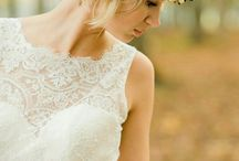 Kort brudehår