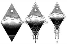 Work In Progress / Take a closer look at the creative progress of the custom tattoo designs.