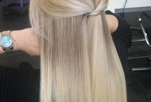 Cheveux blonde