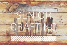 Senior Crafts / fun, interesting and easy ways to give your living space a little upgrade.