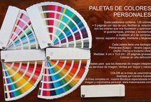 paleta de colores personales