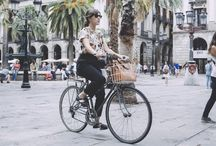 babes on bikes / by Jess .