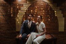 Dark and Dramatic Wedding Inspiration