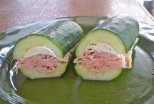 Saladas e sandes saudáveis