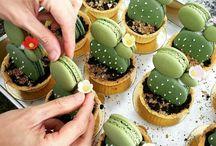 Macaroons Cactus