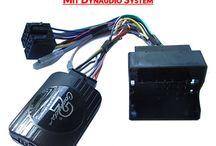 Adapter für Autoradios / Adapter für Autoradios die benötigt werden um auf ein Radio einer anderen Marke im Fahrzeug umzusteigen, dazuwerden fahrzeugspezifische Kabel und Radioblenden benötigt.