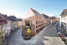 Sebald Kontore Nürnberg mit Wiking Rot Granit