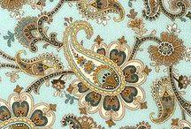 Fabrics - Paisley