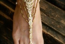 bare feet macrame