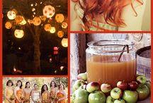 Осенняя свадьба и просто осень