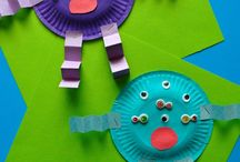 Monster crafts and activities / Monster crafts and activities. Perfect for Halloween, particularly for younger children.