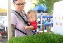 Dragen / Baby dragen - babywearing: mijn favoriete dragers en accessoires. Vooral veel Tula!  / by Marike Bijlsma