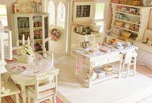 Domečky a pokojíčky pro panenky