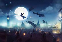 Julekugler og pynt med Peter Pan