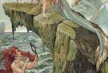 mermaids / by Mary Delucco-marantz
