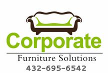 Corporate Furniture Solutions / #stagingmidland #corporatefurnituresolutions #homestagingmidlandtx #midlandstaging