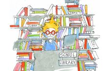 Library Love / A place to collect ideas for teacher-librarians and other lovers of books and teaching kids to read! / by One Time Through