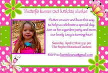 Butterfly Garden Party / Ideas and tips for hosting a butterfly garden party on a budget