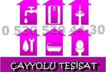   0 530 520 44 30 ÇAYYOLU TESİSAT  
